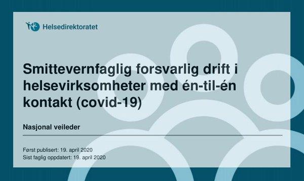 Smittevernveileder (covid-19)